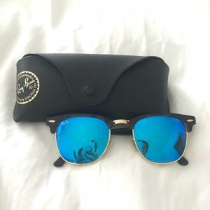 Rayban Clubmaster Flash Lenses